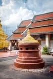 名为Wat Phra的佛教寺庙骇黎朋猜 库存照片