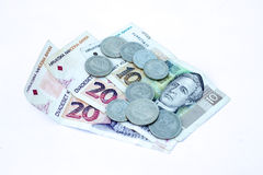 8名克罗地亚人货币 库存图片
