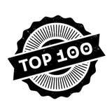 名列前茅100不加考虑表赞同的人 库存照片