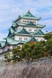 名古屋城堡在日本 免版税图库摄影