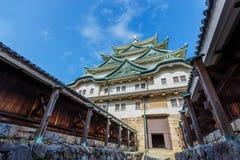名古屋城堡在日本 库存照片