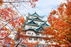 名古屋城堡在日本 免版税库存图片