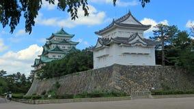 名古屋城堡在日本 库存图片