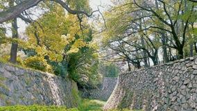 名古屋城堡庭院 免版税库存图片