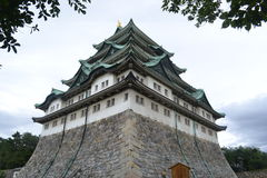 名古屋城堡爱知日本 免版税图库摄影