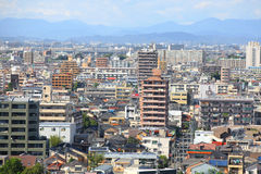 名古屋都市风景 库存照片