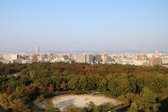 名古屋鸟瞰图1 图库摄影