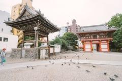 名古屋,日本- 2016年11月21日:Osu Kannon寺庙在名古屋 免版税库存图片