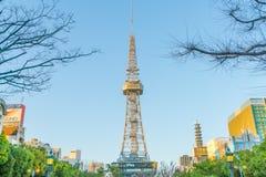 名古屋,日本- 2月07 :绿洲21在名古屋, 库存照片