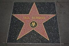 名望好莱坞纽曼・保罗结构 库存照片