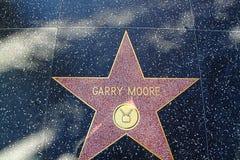 名望好莱坞结构 星名义上Garry穆尔 库存图片