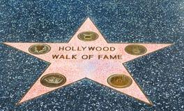 名望好莱坞结构 免版税图库摄影
