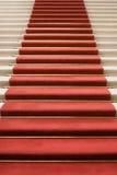 名望楼梯 免版税库存照片