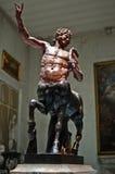 名骑手雕塑-更旧的Furietti名骑手 免版税库存照片