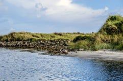 后屿海滩 库存照片