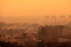 后工业化的都市风景II 库存图片