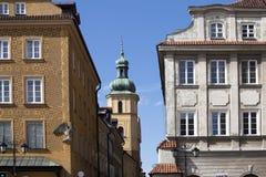后新生样式在第二次世界大战以后被重建和现在的市民房子形成联合国科教文组织世界遗产名录站点Ol 免版税图库摄影