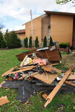 后果圣路易斯龙卷风 免版税库存照片