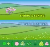 以后的春天 袋子是开始了期初chukotka来日下来欺骗朋友有感兴趣放置晴朗我的休眠休眠打鼾的打鼾春天的星期日非常那里移动谁 seaso的概念变动 库存例证