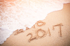 以后的概念新年度 免版税图库摄影