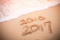 以后的概念新年度 免版税库存图片