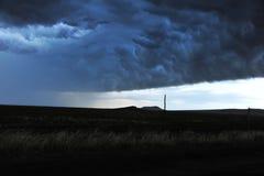 以后的风暴 免版税库存照片