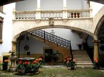 后花园西班牙围场 免版税库存图片
