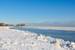 后退冰流程 免版税库存照片