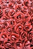 后面地面摘要与玫瑰的 向量例证