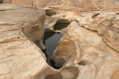 后面峡谷 库存图片