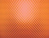 后面橙色织地不很细摘要点燃了玻璃 库存照片