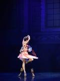 """从后面芭蕾""""One一千和一Nights†观看的图 免版税库存照片"""