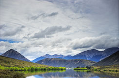向亚瑟` s通行证,新西兰的路 库存图片