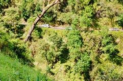 向哈纳的惊人的冒险路在毛伊 免版税库存图片
