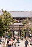 向寺庙的路径 库存照片
