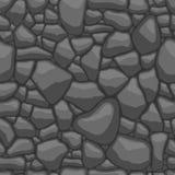 向无缝的模式扔石头 免版税库存图片