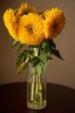 向日葵花束 图库摄影
