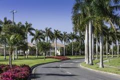 传统社区在那不勒斯,佛罗里达 免版税库存图片