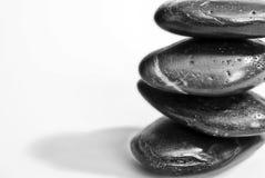向禅宗扔石头 免版税库存图片