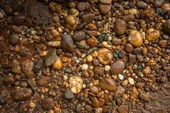 向背景扔石头 泰国 库存图片
