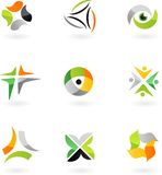 向量徽标&设计要素- 1 皇族释放例证