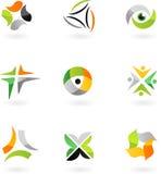 向量徽标&设计要素- 1 免版税库存照片