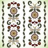 向量无缝的花纹花样背景 向量例证