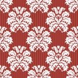 向量无缝的锦缎模式 富有的装饰品,老大马士革styl 免版税图库摄影
