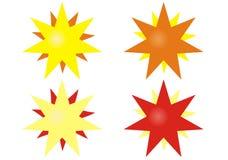 向量星形 库存照片