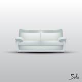 向量沙发 免版税图库摄影