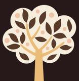 向量结构树 免版税库存图片