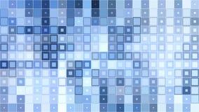 向量背景 抽象纹理的例证与正方形的 免版税库存图片
