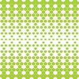 向量背景 抽象绿色和白色多角形样式 免版税图库摄影