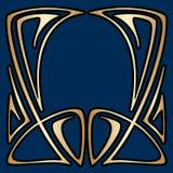 向量艺术装饰框架 免版税库存图片